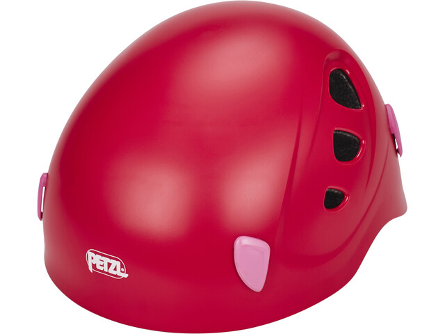 Petzl Picchu Casco Bambino, raspberry red